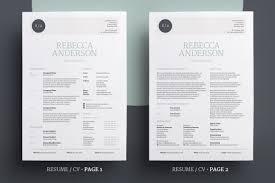 Elegant Resume Elegant ResumeCV V24 On Behance 8