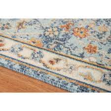 amer rugs bohemian navy blue 5 ft 1 in