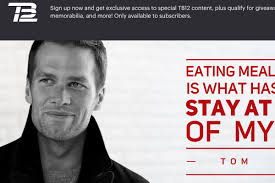 tom brady sells a nutrition manual which is really just a cookbook with recipes for diffe fancy ways of preparing gr he offers fancy pajamas that