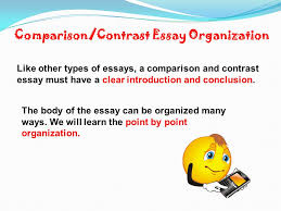 comparison and contrast ppt video online 3 comparison contrast essay organization