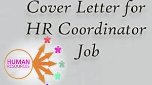 Sample Hr Coordinator Cover Letter Sample Cover Letter For Hr Coordinator Job Hr Letter Formats