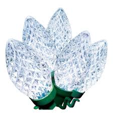 Holiday Time Cool White Led C9 Lights 100 Count Holiday Time Cool White Led C9 Lights 100 Count Walmart Com
