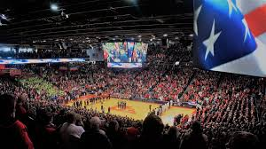 Dayton Arena Seating Chart Ncaa Ud Arena Dayton Flyers Stadium Journey