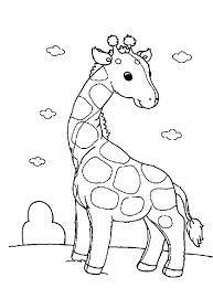 Small Picture cartoon giraffe coloring pages cute cartoon giraffe coloring pages