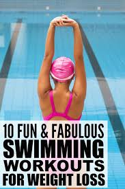 is swimming good exercise to lose weight photo 1