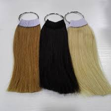 Us 59 99 8 Inch Human Hair Color Ring For Salon Hair Color Chart Three Color Lot In Color Rings From Hair Extensions Wigs On Aliexpress