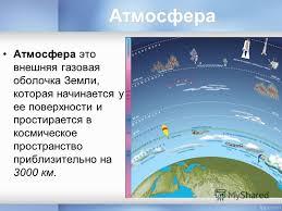 Презентация на тему Атмосфера Земли Ее состав и строение  2 Атмосфера Атмосфера