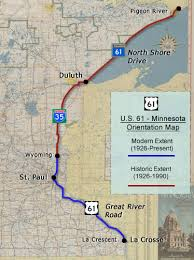 u s 61, minnesota route history Mn Highway Map Mn Highway Map #46 mn highway map pdf