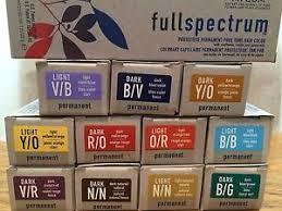 Aveda Full Spectrum Hair Color Chart Hair Coloring