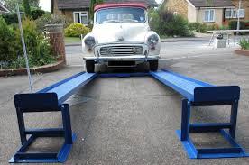 car lift ramps the simple unique patented mr1s for diy mechanics