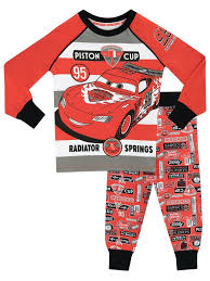 Lighting Mcqueen Pajamas Disney Cars Snuggle Fit Pyjamas Lightning Mcqueen