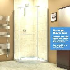 32 inch shower stall inch shower angle base slimline x single threshold pan kit inch shower