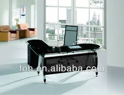 big office desk. big lshaped modern design glass executive office table manager desk fohxl v