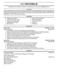 Sample Dietitian Resume Happy Dietitian   WordPress com
