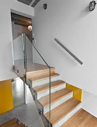 Charming Family Dream House Interior with Full of Innovative Timber: Pretty  Indoor Staircase Design Of