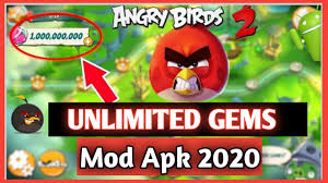 Angry Birds 2 MEGA MOD APK 2.40.3 Anti Ban || Angry Birds 2 MOD APK  Unlimited Gems and Energy 2020 - YouTube