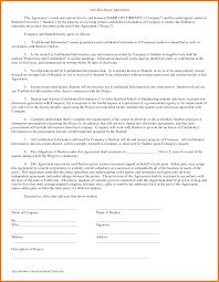 Simple Non Disclosure Agreement Barca Fontanacountryinn Com