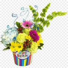 Birthday Flowers Background Design Birthday Party Background Png Download 1024 1024 Free