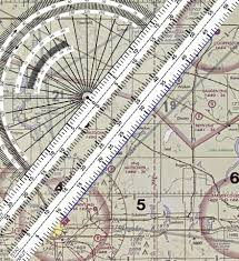 How To Use A Plotter On A Sectional Chart How To Use A Navigation Plotter Max Aero