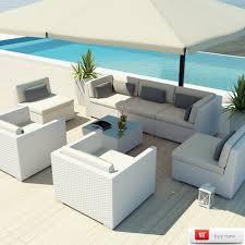 Wicker Patio Furniture Set colors