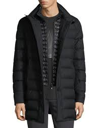 Men's Parka, Quilted & Other Jackets at Neiman Marcus & Vallier Quilted Down Coat Adamdwight.com