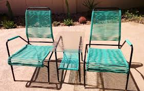 vintage expanded metal outdoor furniture ideas