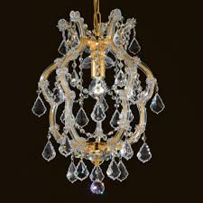 small gold chandelier small classic gold swarovski crystal chandelier 1 simple