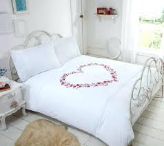 pink duvet cover embroidered hearts white pink duvet cover by rapport blush pink twin xl duvet