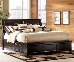 Martini Bedroom Suite Martini Suite Cal King Panel Platform Bed With Side Drawer Storage