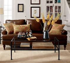 interior throw pillows for dark brown leather sofa com stylish couch intended average lovable 6
