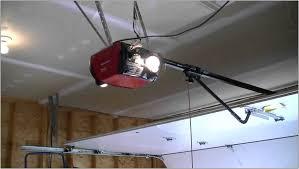 craftsman garage door opener service light