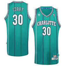 Charlotte Dell Jersey Curry Hornets