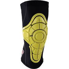 G Form Pro X Iconic Yellow Knee Pads X Small