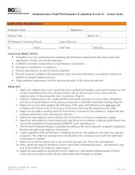 Job Evaluation Template Free Appraisal Template Samples Examples Formats Download ...