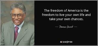 America Quotes Delectable Thomas Sowell Quote The Freedom Of America Is The Freedom To Live