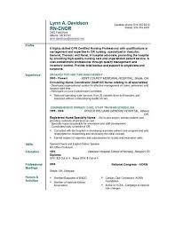 nurse resume skills