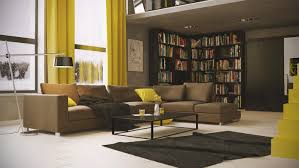 Yellow Brown Living Room Fine Brown Living Room With Varying Shades Of Chocolate Living
