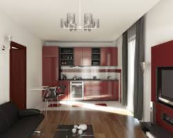 Living Room And Kitchen Color Schemes Small Kitchen And Living Room Combined Ideas Living Room Kitchen