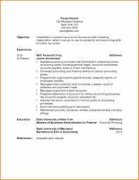 Sample Accounting Resume Objective 10 Accounting Resume Objective 1mundoreal