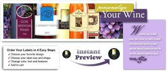 Custom Wine Labels Bottle Sticker Wedding Label Template ...