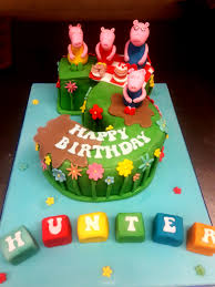 Peppa Pig Birthday Cake M Rays Bakery
