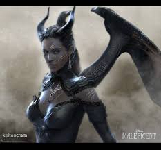 rad concept art re designs of maleficent and also kitty pride the mary sue