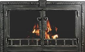 awesome stoll fireplace doors large fireplace glass doors screens
