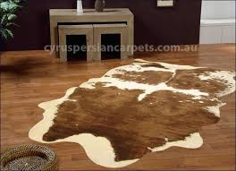 faux animal hide rugs
