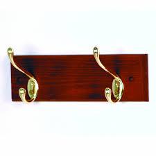 2 Hook Coat Rack Amazon Wooden Mallet 100Inch 100Nickel Hook Coat Rack Light Oak 31