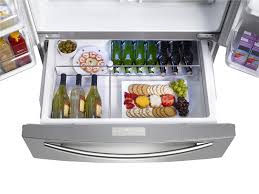 samsung refrigerator french door size. amazon.com: samsung rf4287hars 28 cu. ft. 4-door french door refrigerator - stainless steel: appliances size
