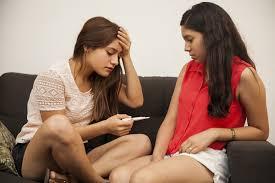 Latina teens couple of