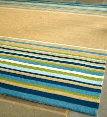new striped outdoor rugs latest yellow rug best images about on braided blue and green ou