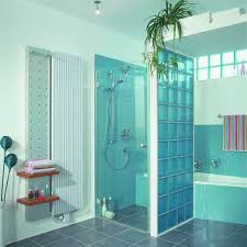 Artistic Decoration In Bathroom Interior Design Photos Of Glass Block  Showers Ideas : Captivating Blue Glass ...