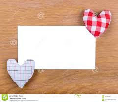 Valentines Day Letter Template Letter Template For Greeting Happy Valentines Day On A Wooden